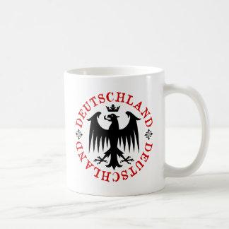 Deutschland German Eagle Emblem Coffee Mugs