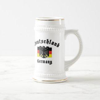 Deutschland Germany Flag Beer Stein