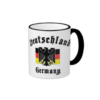 Deutschland Germany Flag Coffee Mugs