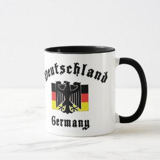 Deutschland Germany Flag Mug