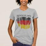 Deutschland Germany Flag Shirt Ladies Petite