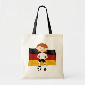Deutschland Germany Fußball Mädchen 3 Bag
