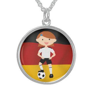 Deutschland Germany Fußball Mädchen 3 Pendant