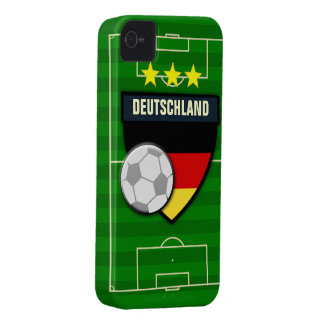 Deutschland Germany Soccer iPhone 4 Case