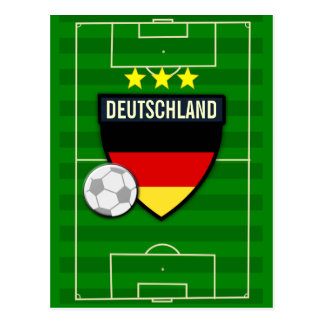 Deutschland Germany Soccer Postcard