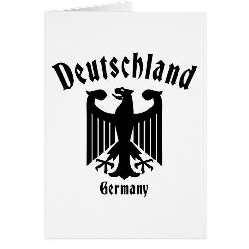 Deutschland Greeting Card