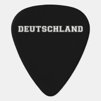Deutschland Guitar Pick