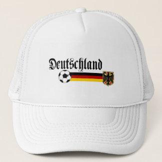 Deutschland large fussball logo trucker hat