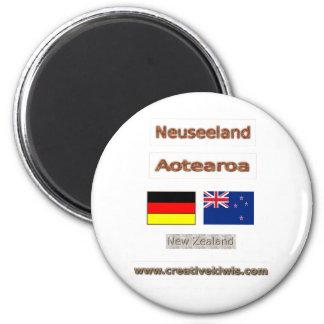 Deutschland, Neuseeland Magnet