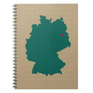 Deutschland Notizbuch
