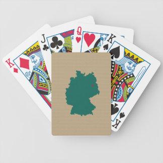 Deutschland Pokerkarten