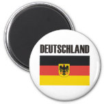Deutschland Products & Designs! 6 Cm Round Magnet