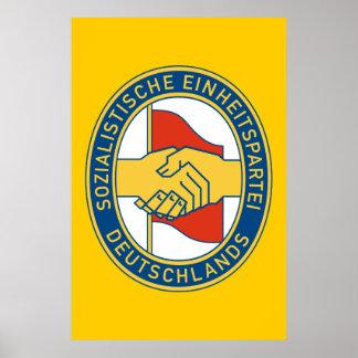 Deutschland SED - German Socialist Worker Party Posters