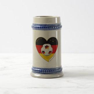 """DEUTSCHLAND"" Soccer Team 2014. Soccer of Germany Mug"