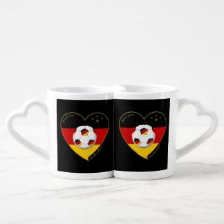 """""""DEUTSCHLAND"""" Soccer Team 2014 Soccer of Germany Couples Mug"""