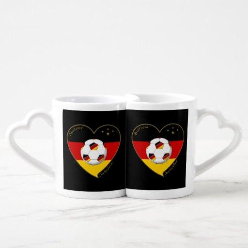 """""""DEUTSCHLAND"""" Soccer Team 2014. Soccer of Germany Couples Mug"""