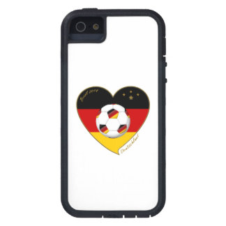 """DEUTSCHLAND"" Soccer Team. Soccer of Germany 2014 iPhone 5 Cover"