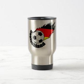 deutschland stainless steel travel mug