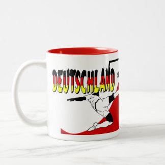Deutschland Two-Tone Mug