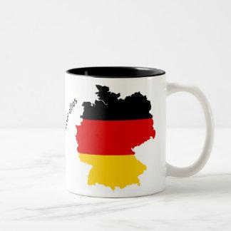 deutschland über alles Two-Tone coffee mug