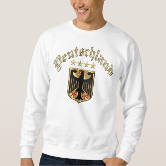 Deutschland Vier Sterne Eagle Badge Adler Pull Over Sweatshirt