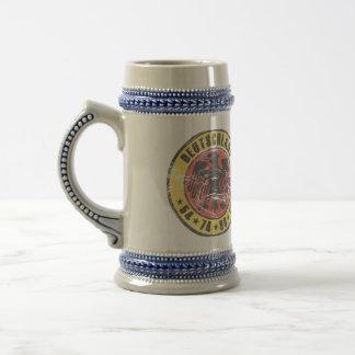 Deutschland Vintage Stein 54 74 90 10 Beer Steins