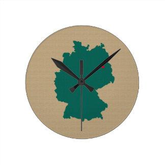 Deutschland Wanduhr