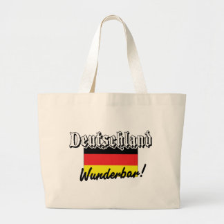 Deutschland Wunderbar Large Tote Bag