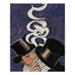 Deux Fumeurs by Cappiello Poster