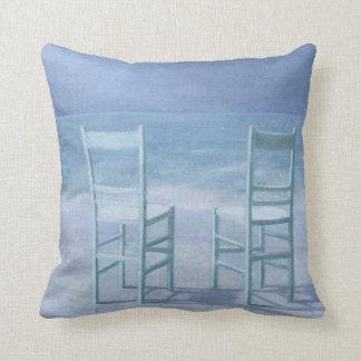 Deux Throw Pillow