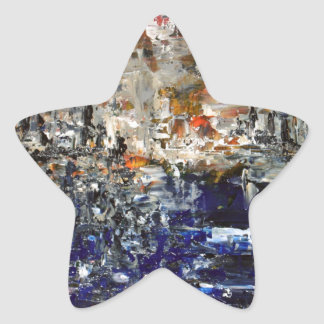 Deux Villes Star Sticker