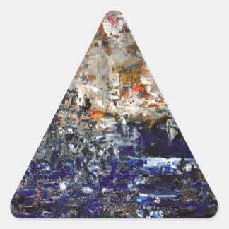 Deux Villes Triangle Sticker