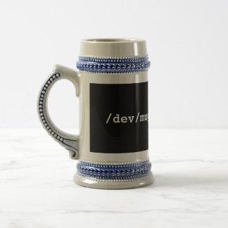 /dev/mug beer stein