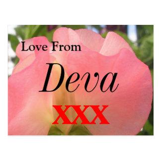 Deva Postcard