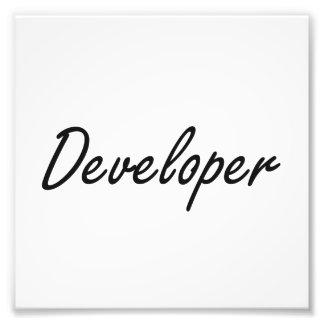 Developer Artistic Job Design Photograph