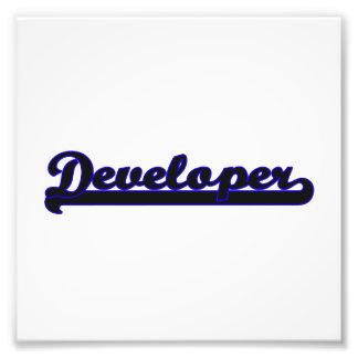 Developer Classic Job Design Art Photo
