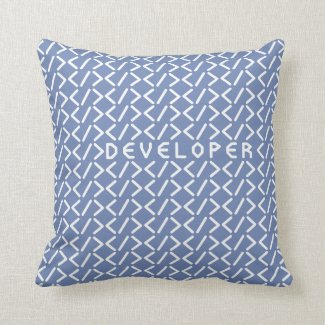 Developer (+white/p) / pillow