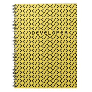 Developer (yellow) / Photo Notebook (80 Pages B&W)