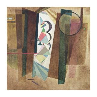 Development in Brown Canvas Print