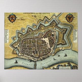 Deventer - 1652 poster