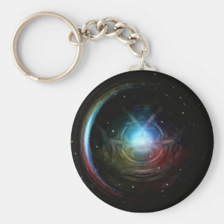 Device-1 Basic Round Button Key Ring