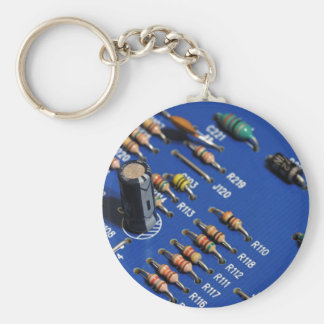Device Basic Round Button Key Ring