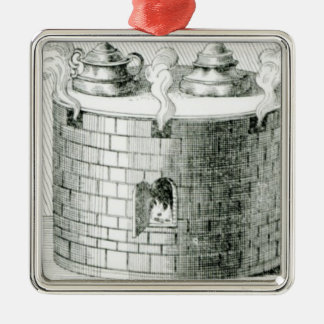 Devices for Keeping Water and Food Warm on Christmas Ornament