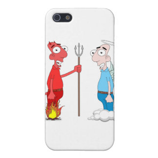Devil and Angel iPhone 5 Case