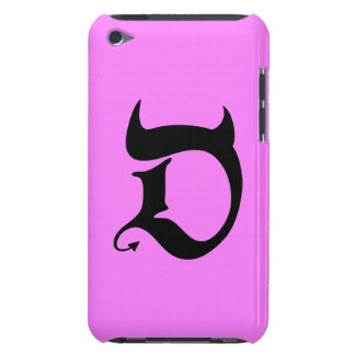 Devil black pink Case-Mate iPod touch hülle