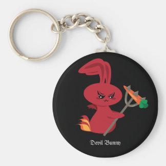 Devil Bunny Key Ring