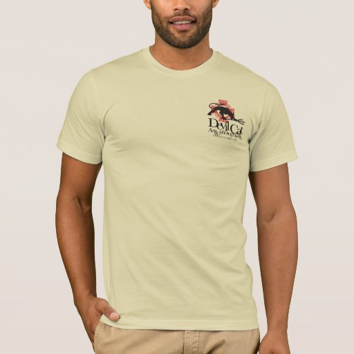 Devil Cat Art T-Shirt