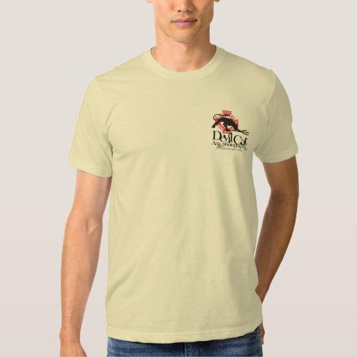 Devil Cat Art Tee Shirt