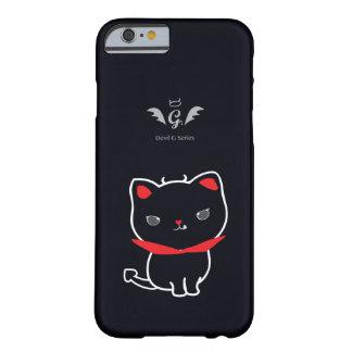Devil Cat Nikolas Classic Barely There iPhone 6 Case