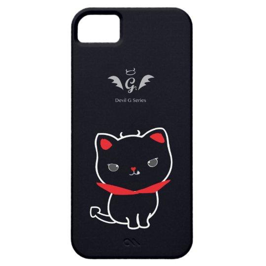 Devil Cat Nikolas Classic iPhone 5 Cases